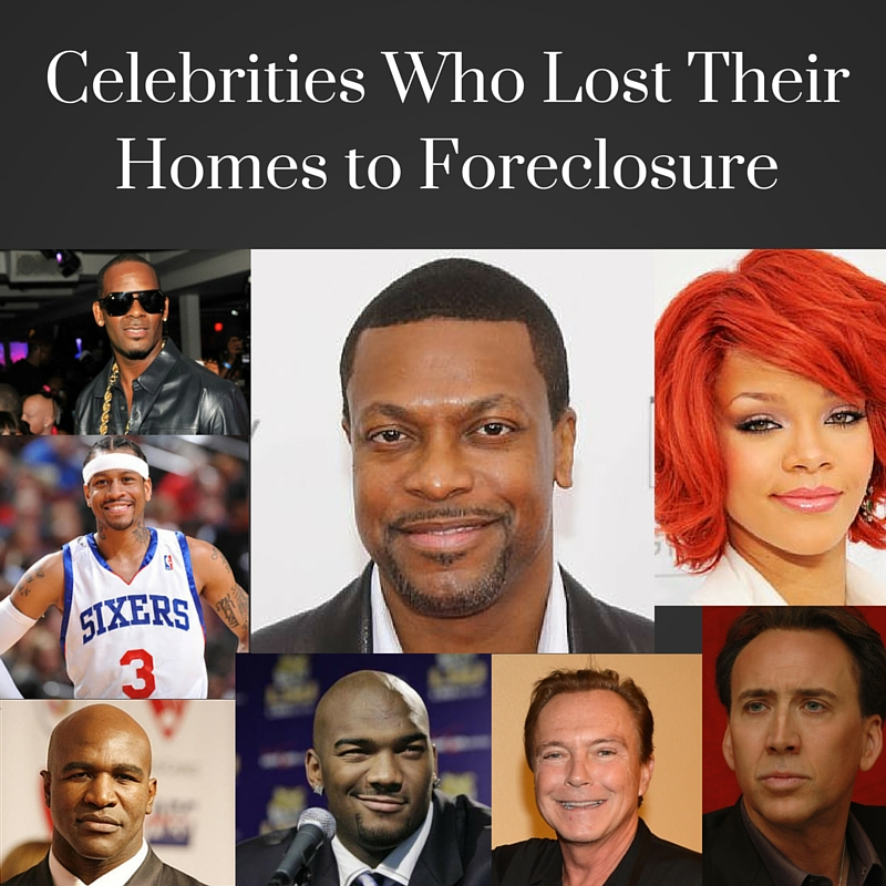Celebrities Who Lost Their Homes to Foreclosure