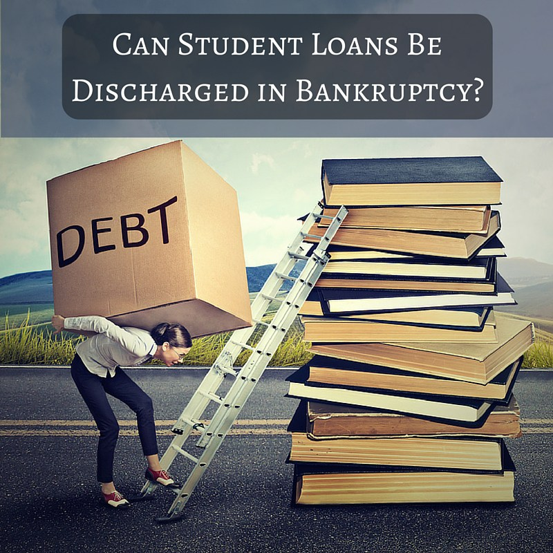 Can Student Loans Be Discharged in Bankruptcy?