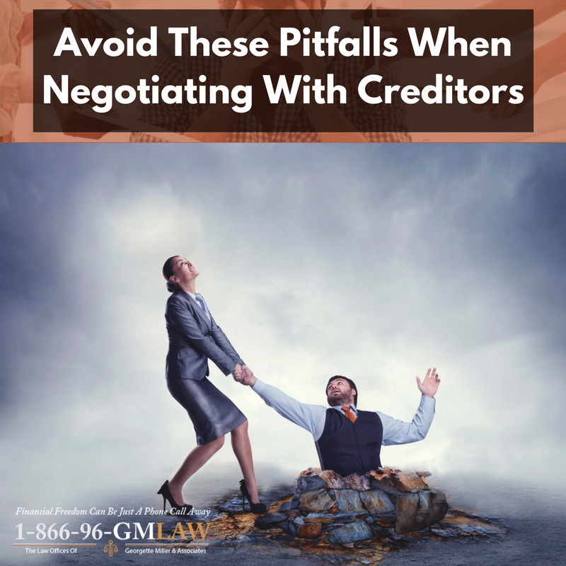 Avoid These Pitfalls When Negotiating With Creditors