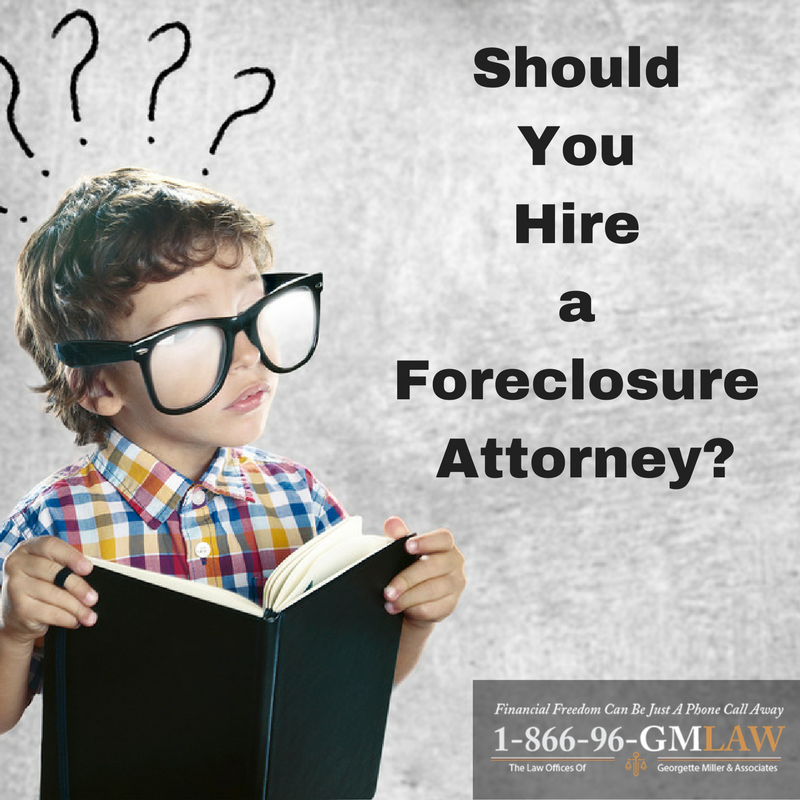 Should You Hire a Foreclosure Attorney?