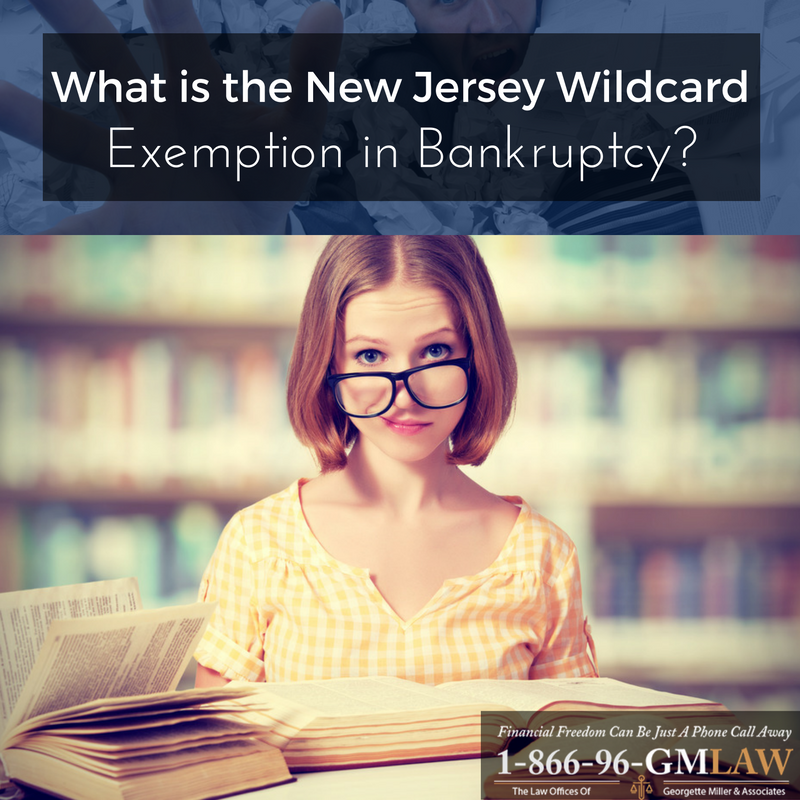 What is the New Jersey Wildcard Exemption in Bankruptcy?